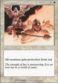 Absolute Law Magic Card
