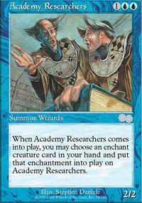 Academy Researchers Magic Card