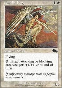 Angelic Page Magic Card