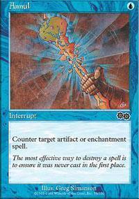 Annul Magic Card