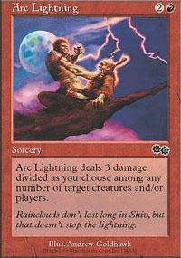 Arc Lightning Magic Card