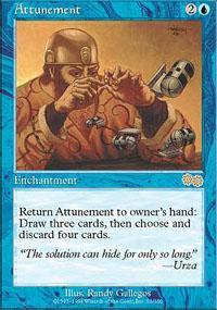 Attunement Magic Card
