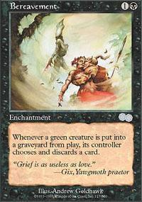 Bereavement Magic Card