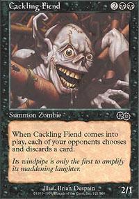 Cackling Fiend Magic Card