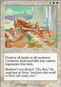 Catastrophe Magic Card