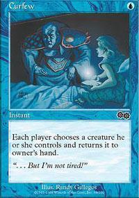 Curfew Magic Card