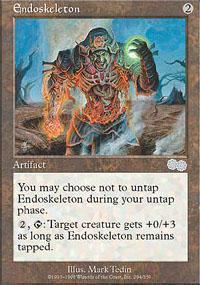 Endoskeleton Magic Card