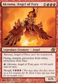 Akroma, Angel of Fury Magic Card