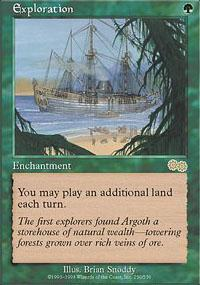 Exploration Magic Card