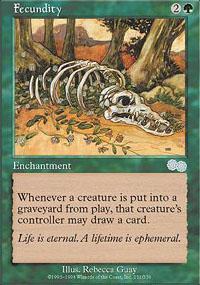 Fecundity Magic Card