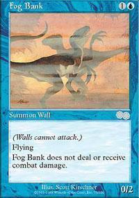 Fog Bank Magic Card