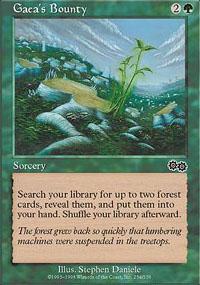 Gaea's Bounty Magic Card