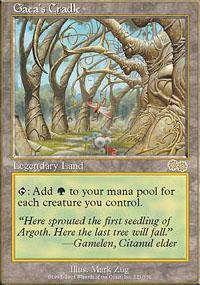Gaea's Cradle Magic Card