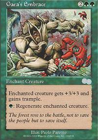 Gaea's Embrace Magic Card