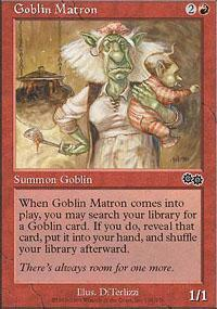 Goblin Matron Magic Card