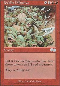 Goblin Offensive Magic Card