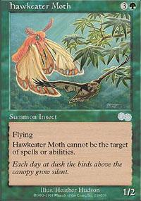 Hawkeater Moth Magic Card