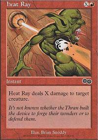 Heat Ray Magic Card
