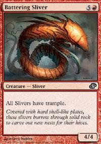 Battering Sliver Magic Card