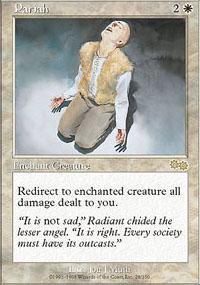 Pariah Magic Card