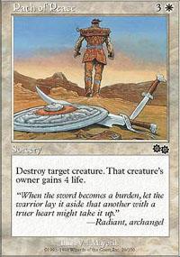 Path of Peace Magic Card
