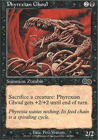 Phyrexian Ghoul Magic Card