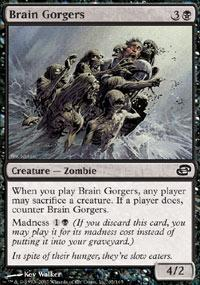 Brain Gorgers Magic Card