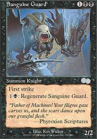 Sanguine Guard Magic Card