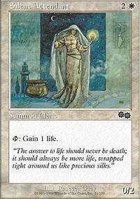 Silent Attendant Magic Card