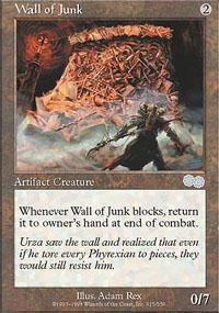 Wall of Junk Magic Card