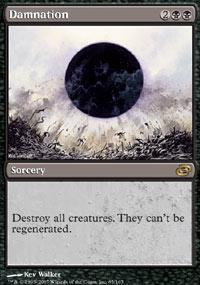 Damnation Magic Card