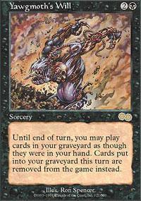 Yawgmoth's Will Magic Card
