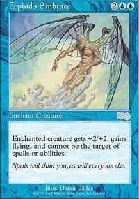 Zephid's Embrace Magic Card