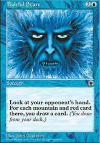 Baleful Stare Magic Card