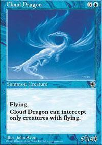 Cloud Dragon Magic Card