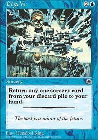 Deja Vu Magic Card
