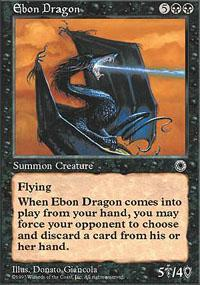 Ebon Dragon Magic Card