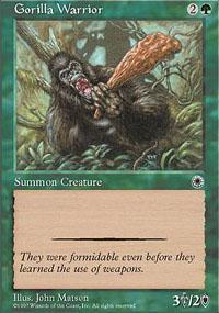 Gorilla Warrior Magic Card