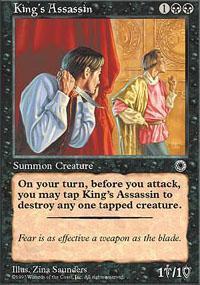 King's Assassin Magic Card