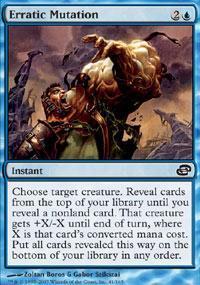 Erratic Mutation Magic Card