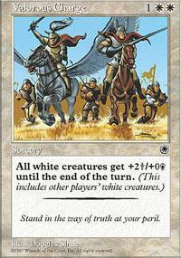 Valorous Charge Magic Card