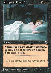 Vampiric Feast Magic Card