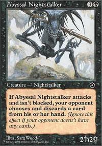 Abyssal Nightstalker Magic Card