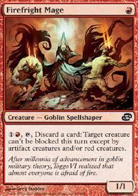 Firefright Mage Magic Card