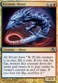 Frenetic Sliver Magic Card