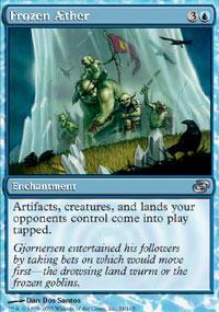 Frozen AEther Magic Card