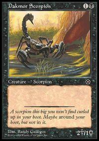 Dakmor Scorpion Magic Card
