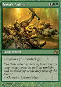 Gaea's Anthem Magic Card