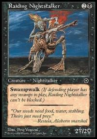 Raiding Nightstalker Magic Card