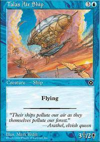 Talas Air Ship Magic Card